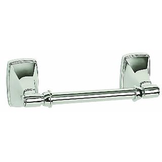 Amerock BH2650726 Clarendon Pivoting Double Post Tissue Roll Holder, Polished Chrome