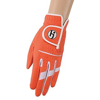 HJ Glove Womens Gripper II Golf Glove, Left Hand, X-Large, Coral