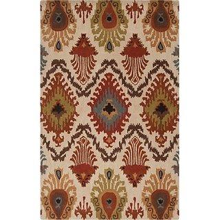 Surya Matmi MAT-5427 Transitional Hand Tufted 100% Wool Fatigue Green 26