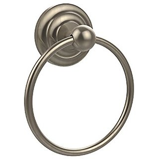 Allied Brass QN-16-PEW 6-Inch Towel Ring, Antique Pewter