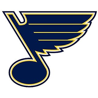 St-Louis Blues NHL logo wall decals stickers - 3 stickers (7