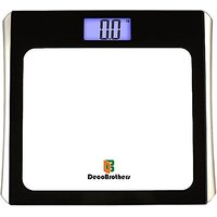 DecoBros Precision Digital Bathroom Body Weight Scale w/ Extra Large Lighted Display, Step-On Startup