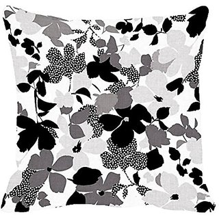 Lali Prints Square Decorative Throw Pillow Case Printed Cushion Cover little leaves 18