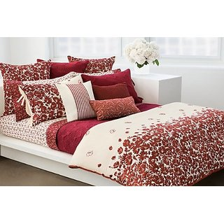 DKNY Wildflower Field 3Piece Full/Queen Comforter Set - New