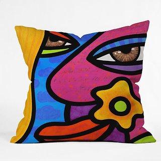 DENY Designs Steven Scott Morning Gloria Throw Pillow, 16 x 16