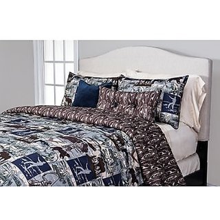 SIS Covers 5-Piece North Shore Duvet Set, Twin