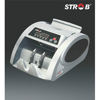 STROB ST 2500 ADVANCED / NOTE / MONEY COUNTER / COUNTING MACHINE & FAKE DETECTER available at ShopClues for Rs.5999
