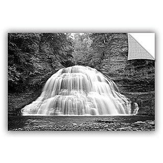 ArtWall Dan Wilsons New York-Treman Falls Art Appeelz Removable Graphic Wall Art, 32 by 48-Inch