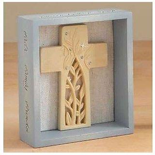 Foundations Faith Family Friends Cross 4015037