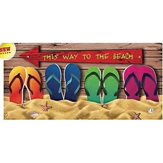 This Way To the Beach 30x60 Beach/Bath Towel