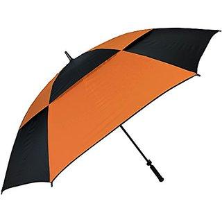 Haas-Jordan 8623 Double Canopy Hurricane 62-Inch Auto Open Golf Umbrella