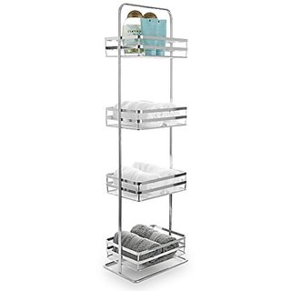 BINO Lafayette Chrome Spa Tower, 4-Tier