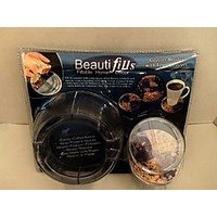 Coaster Holders With 4 Fillable Coasters Case Pack 4
