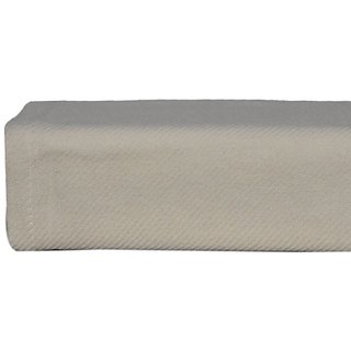 Nautica Cotton Twill Blanket, Twin, Ivory