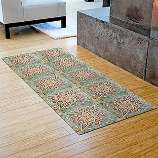 Bungalow Flooring 204964102560 Argana Star Faux Flooring Runner, 25