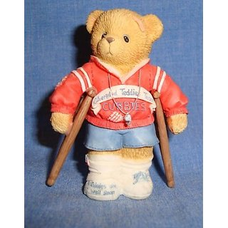 Cherished Teddies - Wade Weathersbee, 1998 Membears Only Figurine - by ENESCO # CT982