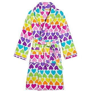 3C4G Rainbow Hearts Robe, Medium/Large