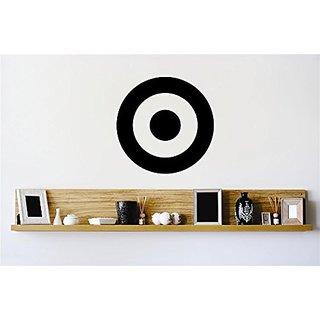 Design with Vinyl Zzz 395 4 Bullseye Target Shot Aim Circle Stylish Vinyl Wall Decal Home Decoration Picture Art, 20-Inc