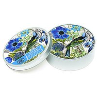 Michel Design Works 12 Count Coasters In Tin, Blue/White
