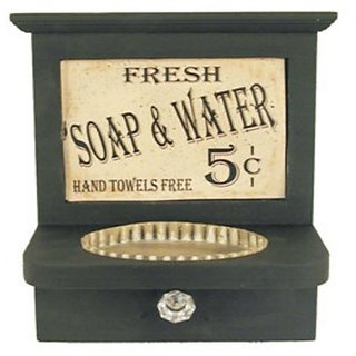 Soap & Hand Towel Holder