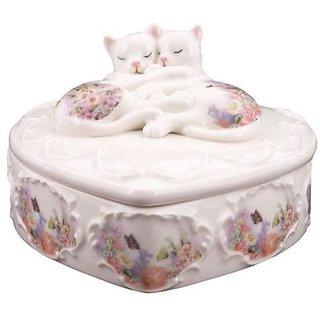 Kitty Kats Sleeping Cats Trinket Box