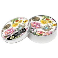 Michel Design Works 12-Count Honeysuckle Coasters In Tin, Multicolor