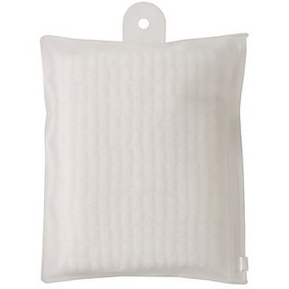 MUJI Japan Erastic Body Towel with Vinyl Case