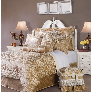 Jennifer Taylor 4 Pcs Comforter Set,Twin Size, HEIRLOOM Collection