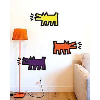 Keith Haring Barking Dogs, assorted