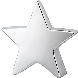 Prinz Silver Ceramic Large Star