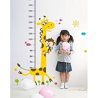 Wangyue Cartoon Giraffe Height Rule Wall Decor Wall Stickers