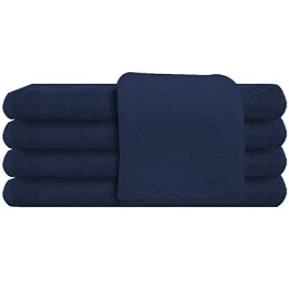 American Terry Mills 100% Cotton Salon Towels Gym Towels Hand Towel, 100% Ringspun-Cotton, Maximum Softness, Absorbency