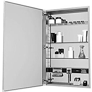 Robern MC1240D425R M-Series Decorative Cabinet with Screen Glass Door, Silver