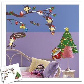 haya TM Lovely blooms zoo nursery childrens room decorative wall stickers Kids Vinyl Sticker Home Decoration