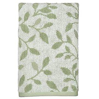 Peri Home Vines Hand Towel, 100Percent Cotton, Green, 15
