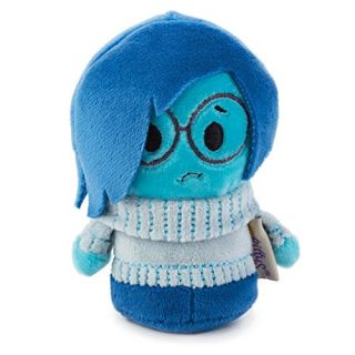 Sadness Hallmark Itty Bittys Plush Collectible From Disney Pixars Inside OUT