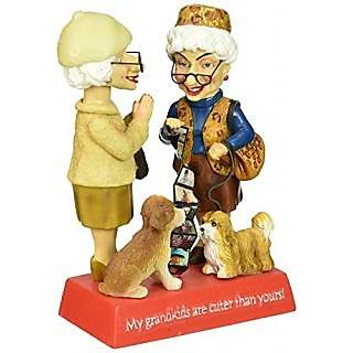 Westland Giftware Grandkids 6-Inch Biddys Bobble Figurine