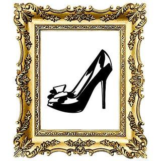 Design with Vinyl Moti 1453 3 Shoe Heel Fashion Peel & Stick Wall Sticker Decal, 18