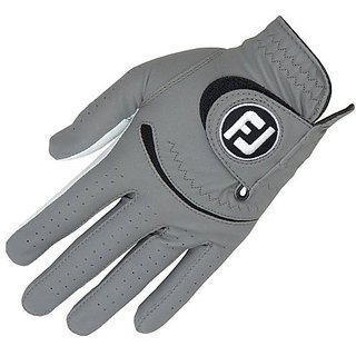 FootJoy Spectrum Gray Golf Gloves 2014 Fit to Right Hand Regular/Gray Small