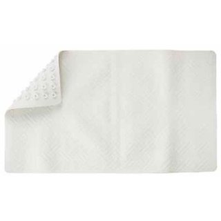Living Accents Bath Mat Tpe (Thermo Plastic Elastomer) White 16