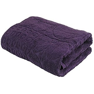 TWL - Fad M Collection - 650 GSM Egyptian Cotton Bath Towel, Plum