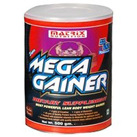 Matrix Nutrition Super Mega Gainer, 2.5 Kg-Chocolate