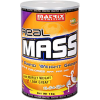 Matrix Nutrition Real Mass, 3 Kg-Chocolate