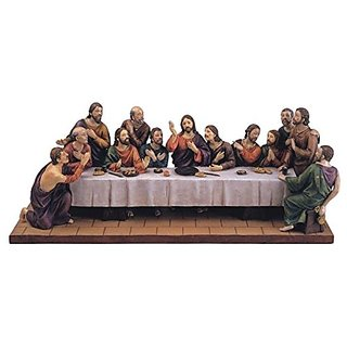 StealStreet SS-G-28201 Last Supper Table Top Decoration Holy Religious Figurine