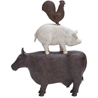 Plutus Brands Animal Decoration with Simple Design and Matte Finish