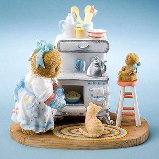 Cherished Teddies Lots of Lovin In The Oven Dorothea & Missy