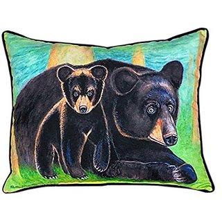 Betsy Drake Bear & Cub Pillow, 16