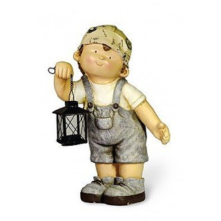 Boston International Paul The Indiana Boy Garden Figure, 17