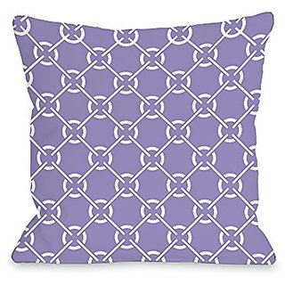 Bentin Home Decor Ceciles Circles Throw Pillow by OBC, 16