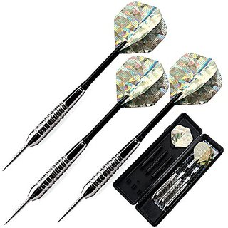 L.e.d Step Cupronickel Steel Tip Darts with Aluminum Shafts 22 Gram